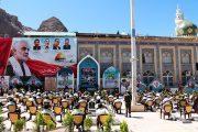 زنگ «مقاومت و پیروزی» در جوار مزار شهید حاج قاسم سلیمانی نواخته شد